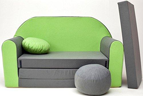 Sofa Kinderzimmer sofa kinderzimmer ii ii stoff grau 50 x 100 x 60 cm 17 mai 2018
