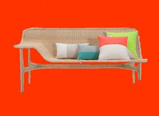 rattan sofa mit schlaffunktion